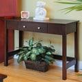 Wildon Home  Bay Shore Console Table; Espresso