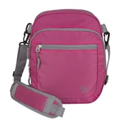 Travelon Convertible Crossbody 11'' Travel Duffel; Berry
