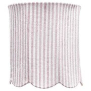 Jubilee Collection 7.25'' Scallop Drum Lamp Shade