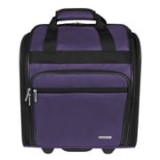 Travelon 14'' Wheeled Carry-On Suitcase; Purple