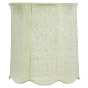 Jubilee Collection 7.25'' Drum Lamp Shade; Modern Green