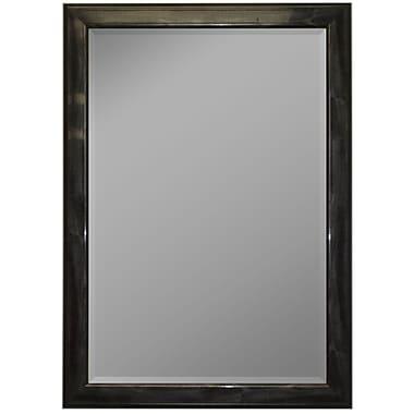 Second Look Mirrors Austrian Stepped Burgundy Wall Mirror; 45'' H x 35'' W