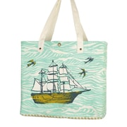 Sarah Watts Ocean Shopping Tote