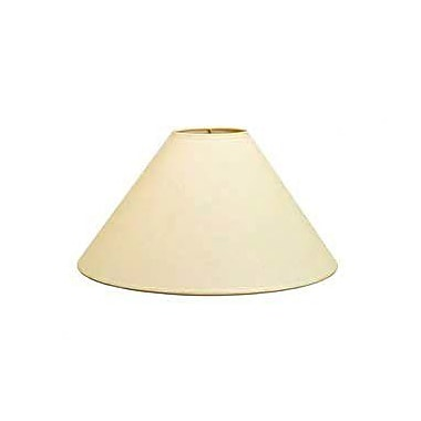 Deran Lamp Shades Hardback 18'' Linen Empire Lamp Shade; Kraft