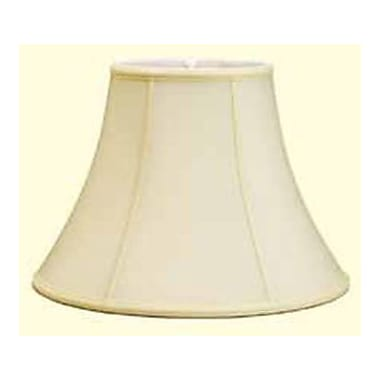 Deran Lamp Shades 14'' Shantung Soft Bell Lamp Shade; Egg