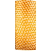 Volume Lighting 4.75'' Glass Drum Wall Sconce Shade; Amber