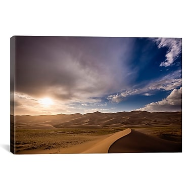iCanvas The Great Dunes by Dan Ballard Photographic Print on Canvas; 8'' H x 12'' W x 0.75'' D