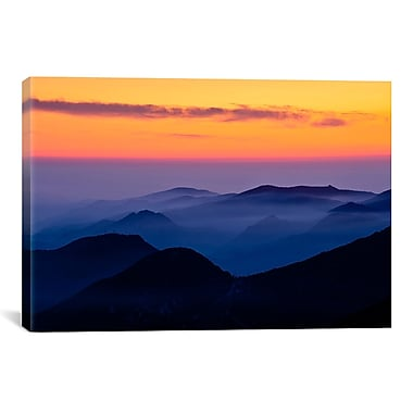 iCanvas Rising Mist by Dan Ballard Photographic Print on Canvas; 8'' H x 12'' W x 0.75'' D