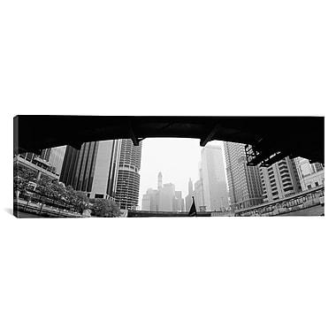 iCanvas Panoramic Chicago, Illinois Photographic Print on Canvas; 16'' H x 48'' W x 1.5'' D