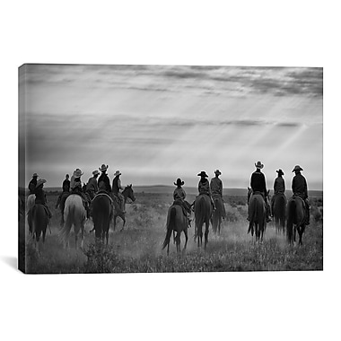 iCanvas Riding Out by Dan Ballard Photographic Print on Canvas; 40'' H x 60'' W x 1.5'' D
