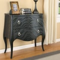 Wildon Home   Zebra Pattern Console Table