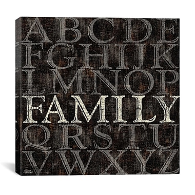 iCanvas Alphabet I from Sparx Studio Textual Art on Canvas; 12'' H x 12'' W x 0.75'' D