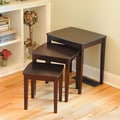 Wildon Home   Bay Shore 3 Piece Nesting Tables; Espresso