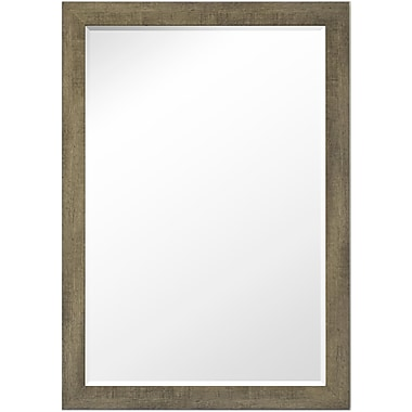 Second Look Mirrors Country Barnwood Wall Mirror; 35'' H x 25'' W