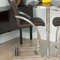 Matrix Vedo Bar Stool; Brown