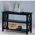 Wildon Home   Independence Console Table; Cappuccino