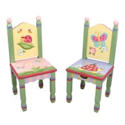 Fantasy Fields Magic Garden Kids Desk Chair (Set of 2)
