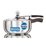 Hawkins Stainless Steel Pressure Cooker; 3.17 Quart