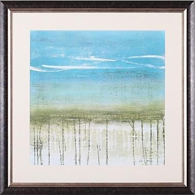 Art Effects Shoreline Memories II by Heather McAlpine Framed Painting Print