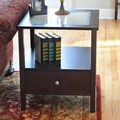 Wildon Home   Bay Shore End Table; Espresso