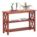 Wildon Home   Independence Console Table; Light Oak