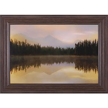 Art Effects Twilight Reflection by Danita Delimont Framed Photographic Print