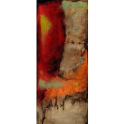 Art Effects Playful Serenity I by Jennifer Goldberger Painting Print on Wrapped Canvas