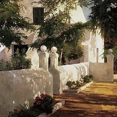 Art Effects Binisaida De Sa Creueta by Poch Romeu Painting Print on Wrapped Canvas