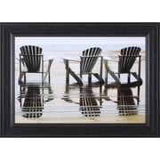 Art Effects Two Plus One by Steven Mitchell Framed Graphic Art