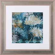 Art Effects Chrysanthemums I by Maria Woods Framed Painting Print