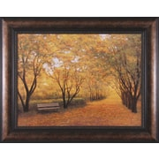 Art Effects Autumn Gold by Diane Romanello Framed Painting Print