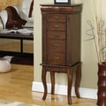 Wildon Home   Moser Jewelry Armoire with Mirror; Coffee