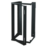 Quest Manufacturing Swing Out Wall Rack; 25RU