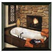 Timeless Frames Fireplace Escape II Framed Painting Print