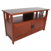 Alaterre Craftsman TV Stand; Cherry