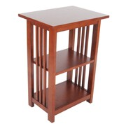 Alaterre Craftsman End Table; Cherry