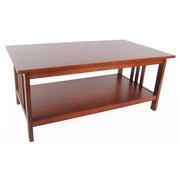 Alaterre Craftsman Coffee Table; Cherry