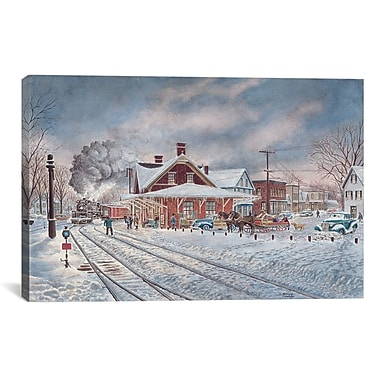 iCanvas Wilton, NH by Stanton Manolakas Painting Print on Canvas; 26'' H x 40'' W x 1.5'' D