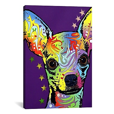 iCanvas 'Chihuahua ll' by Dean Russo Graphic Art on Canvas; 18'' H x 12'' W x 1.5'' D
