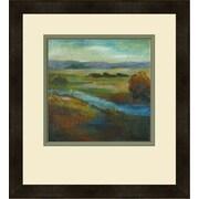 Mantle Art Modern ''Barons Creek Vista II'' by Combs Giclee Framed Painting Print
