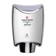World Dryer SmartDri Plus Single-Port Nozzle 110-120 Volt Hand Dryer in Polished Chrome