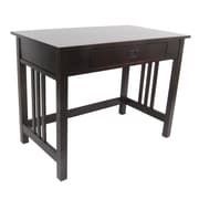 Alaterre Craftsman Writing Desk; Espresso