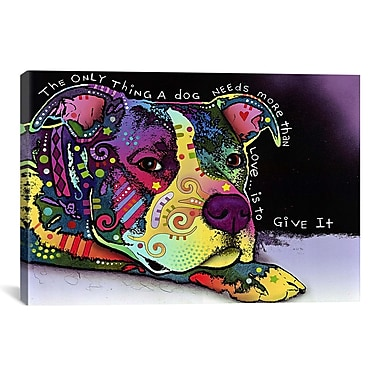 iCanvas Affection by Dean Russo Graphic Art on Canvas; 18'' H x 26'' W x 1.5'' D