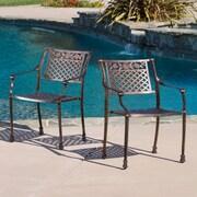 Home Loft Concept Bree Arm Chair (Set of 2)