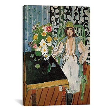 iCanvas The Table by Henri Matisse Painting Print on Canvas; 40'' H x 26'' W x 0.75'' D