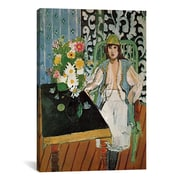 iCanvas The Table by Henri Matisse Painting Print on Canvas; 60'' H x 40'' W x 1.5'' D