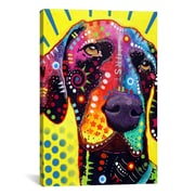 iCanvas German Short Hair Pointer by Dean Russo Graphic Art on Canvas; 40'' H x 26'' W x 0.75'' D