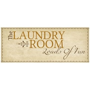 PTM Images The Laundry Room Textual Art on Wrapped Canvas