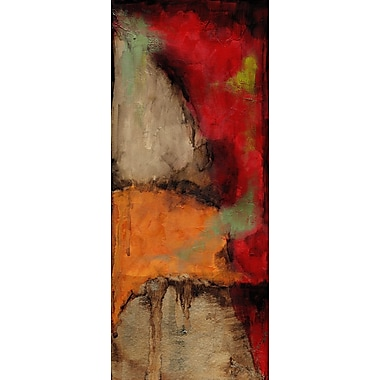 Art Effects Playful Serenity II by Jennifer Goldberger Painting Print on Wrapped Canvas