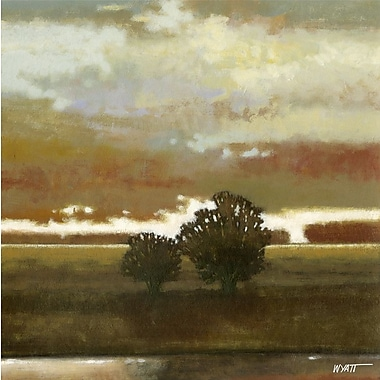 Art Effects Painted Sky II by Norman Wyatt, Jr. Painting Print on Wrapped Canvas